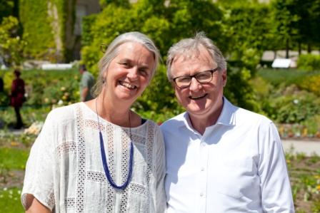 Ann Harmann und Prof. Dr. Bauer