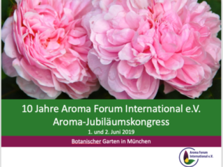 10 Jahre Aroma Forum International e.V. Aroma-Jubiläumskongress